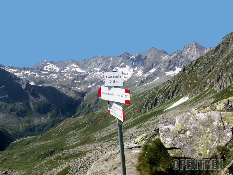 Escursione passo Andolla e cima Dora valle Antrona