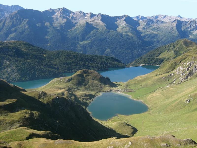 Escursione lago Ritom da Cadagno Canton Ticino