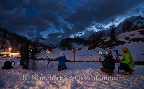 Ciaspolata alpe Devero e Corso di fotografia notturna
