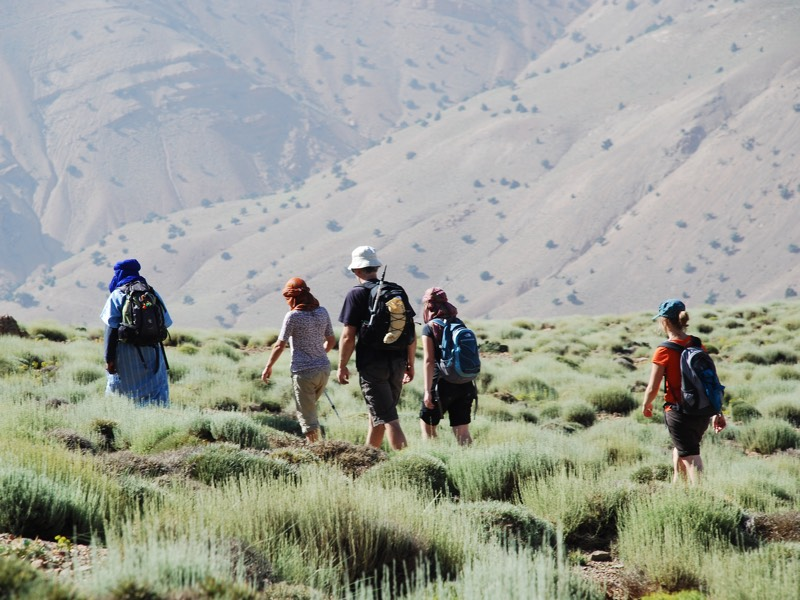 trekking marocco