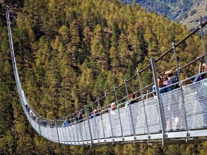 Escursione guidata Randa, sul ponte più lungo del mondo