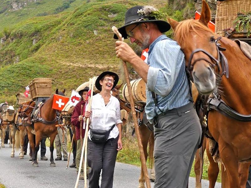 Escursione guidata  la Storica Carovana della Sbrinz Route