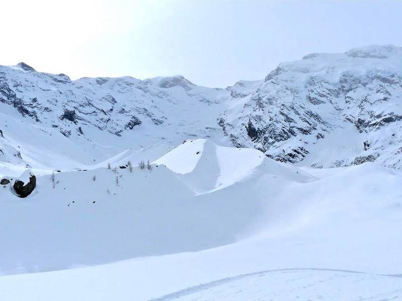 Ciaspolata sulla parete est del Monte Rosa