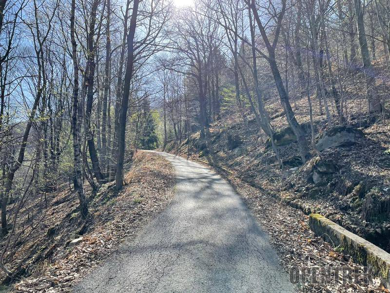 percorso MTB Parpinasca